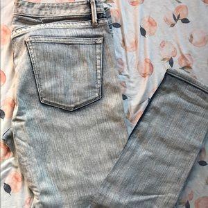 Madewell Acid Wash Skinny Jeans